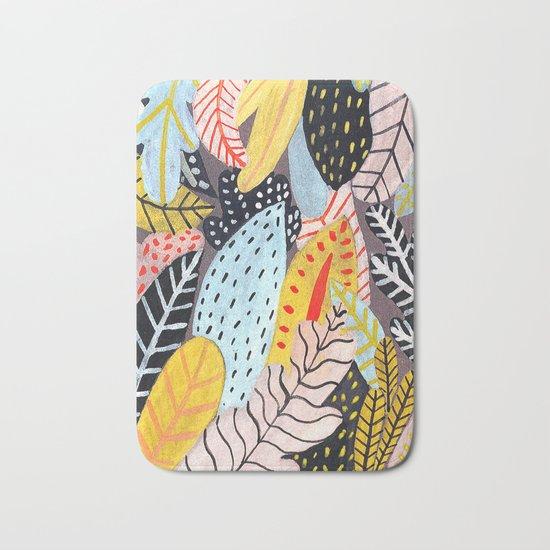 Pastel Jungle Bath Mat