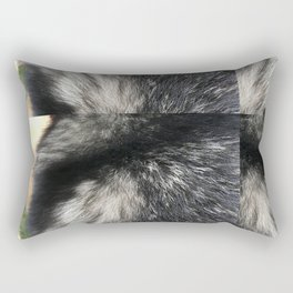 Furry Background Rectangular Pillow
