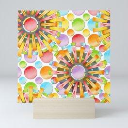 Birthday Party Polka Dots Mini Art Print