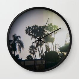 Palmiers Wall Clock