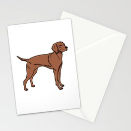 Magyar Vizsla Dog Owner Gift Idea Stationery Cards