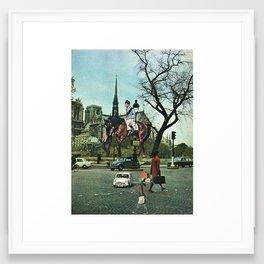 Paris, 1969 Framed Art Print