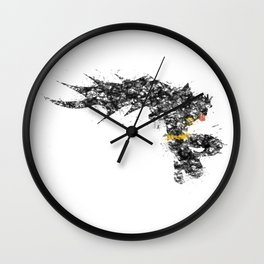 Bruce Colour Bomb Wall Clock