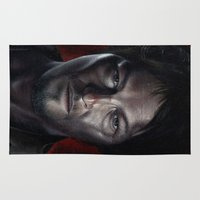 daryl Area & Throw Rugs featuring Daryl by Voss fineart