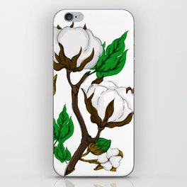 Simple Cotton iPhone Skin