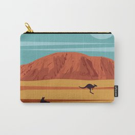 Australian Vintage Poster Carry-All Pouch