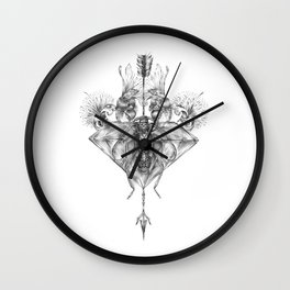 Insect Wall Clock