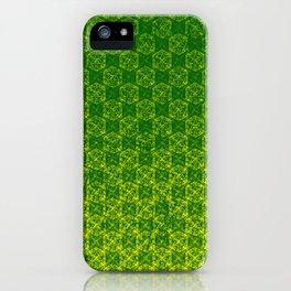 D20 Druid Ranger Crit Pattern Premium iPhone Case