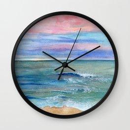 Ocean Study Wall Clock