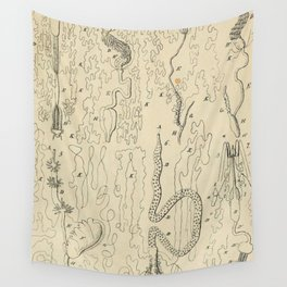 Microscopic Biology Wall Tapestry