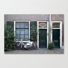 Doors and windows Canvas Print