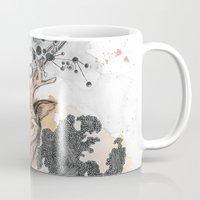 fawn Mugs featuring Fawn by Pfirsichfuchs