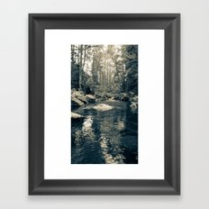 Goldstream Framed Art Print