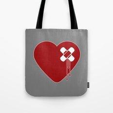 Heart Broken Tote Bag
