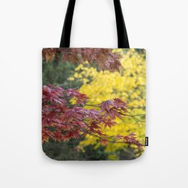 Maple Contrasts Tote Bag