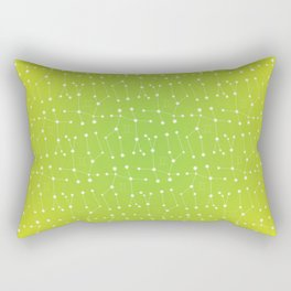 Gemini Constellation Pattern Rectangular Pillow