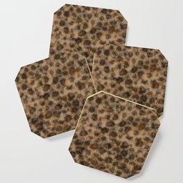 Fuzzy Leopard Coaster