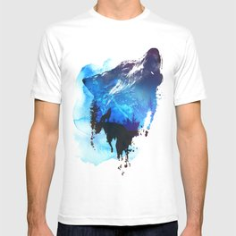 Alone as a wolf T-shirt