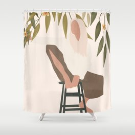 Chill Day Shower Curtain