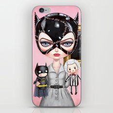 Catwoman - Playtime For Kitty iPhone & iPod Skin