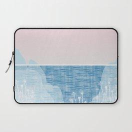 Pastel Sea Landscape Design Laptop Sleeve