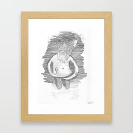 Carry Hope Within Framed Art Print