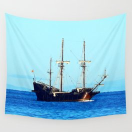 El Galeon Andalucia Wall Tapestry