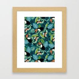 Toucan Tropics Framed Art Print