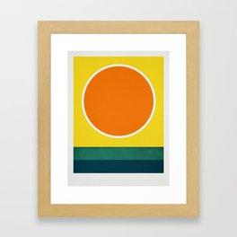 Cistrus Sea Framed Art Print