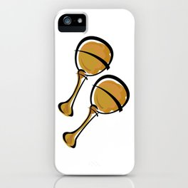 Maracas iPhone Case