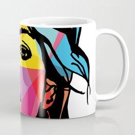fashion illustration geometric art  Coffee Mug