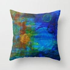 Unseen Worlds Throw Pillow