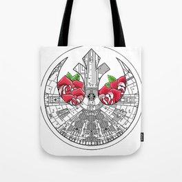 Rebel Alliance Millennium Falcon Tote Bag