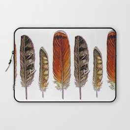 Raptor Feathers Laptop Sleeve
