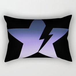 Blackstar not black Rectangular Pillow