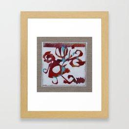 Japanese garden 03 Framed Art Print