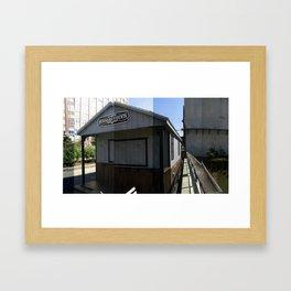 South Elevation Framed Art Print