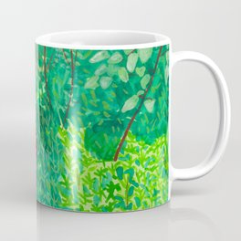 Person Among Plants Coffee Mug
