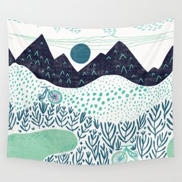 Mountain Biking - The Gravel Path Less Traveled Wall Tapestry