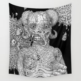Greetings From Temptation Wall Tapestry