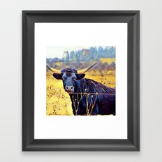 No Bull Framed Art Print