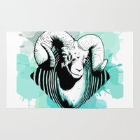aries Area & Throw Rugs featuring Aries by NASBarte