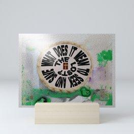 Seek And Save The Lost? Mini Art Print