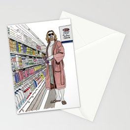 Jeffrey Lebowski and Milk. Stationery Cards