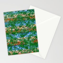 Ariel view of Mexican weed plantation Stationery Cards