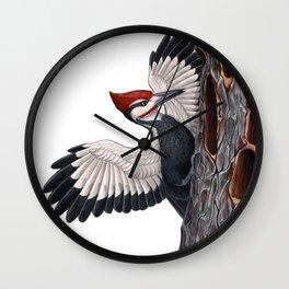 Pileated Woodpecker Wall Clock