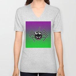 Smiling Spider Unisex V-Neck