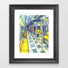 Love NYC's everything No. 5 Framed Art Print