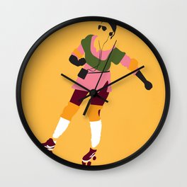 Innamorato Pazzo Wall Clock