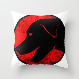 ThunderDogs Throw Pillow